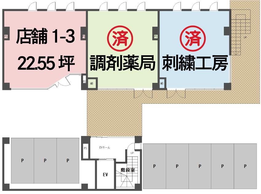 attra間取り1階